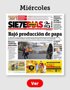 Edición del Periódico Boyacá 7 Días del Miércoles