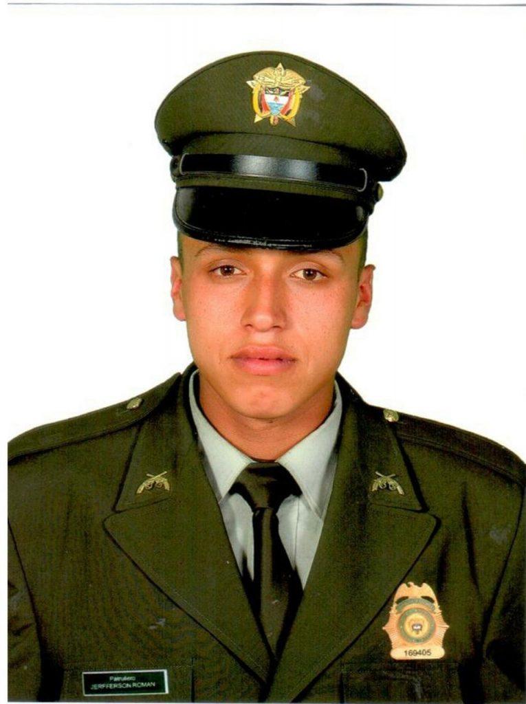 Jefferson Policia que murió en atentado en Tunja