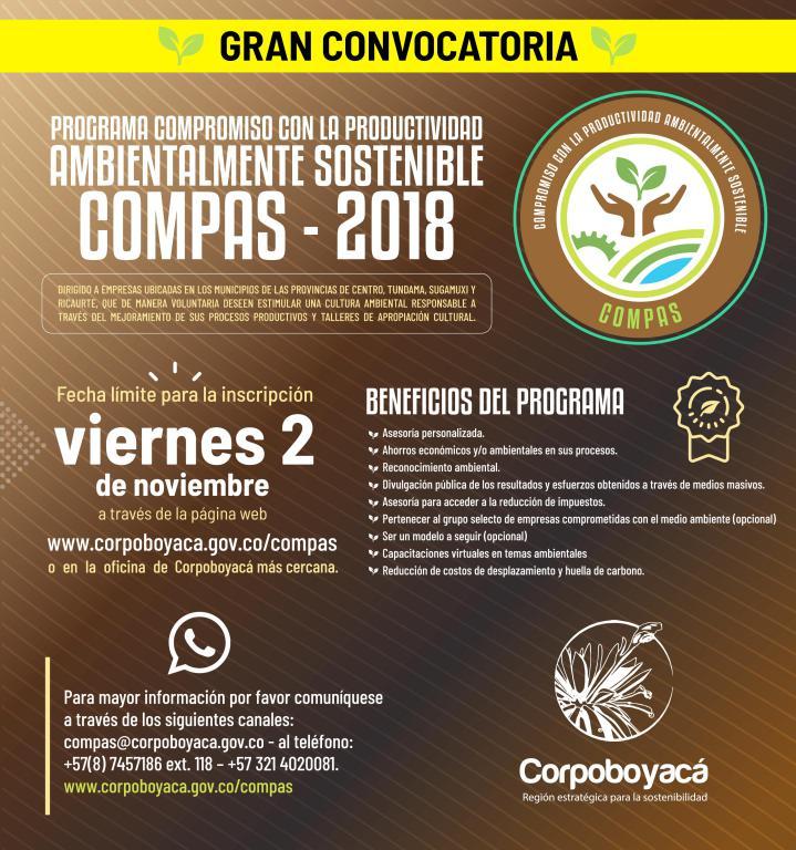 Compas 2018, el reconocimiento para empresas comprometidas con el medio ambiente 1