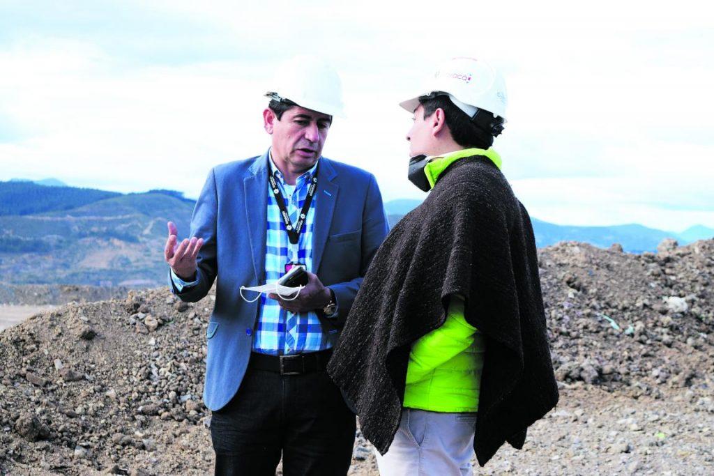 Con condiciones, Alcalde de Sogamoso recibirá obras del relleno sanitario Terrazas del Porvenir 1