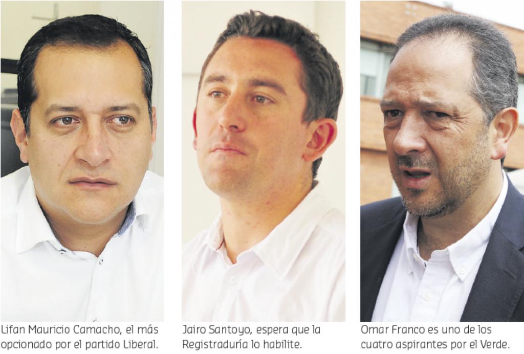Semana decisiva para aspirantes a Gobernación: se conocería candidato Verde, Liberal y si Santoyo logró las firmas 1