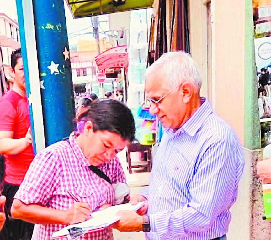 Olmedo Vargas entregará más de 70 mil firmas buscando aval a Gobernación: tiene ocho días más para reunirlas 1