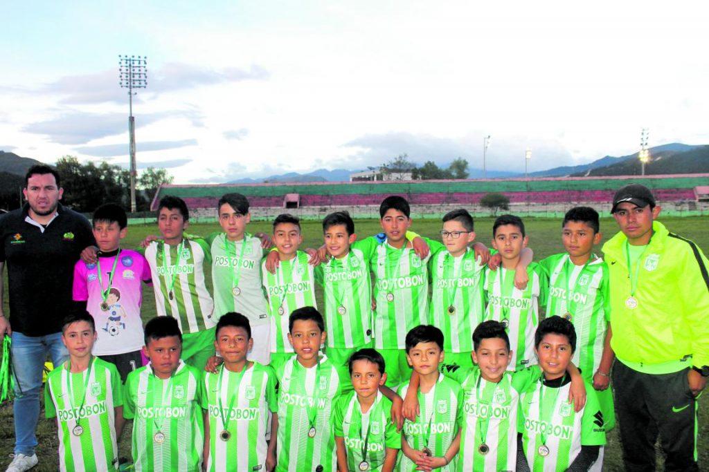 Atlético Nacional, campeón del Torneo de Baby Fútbol en Sogamoso 1