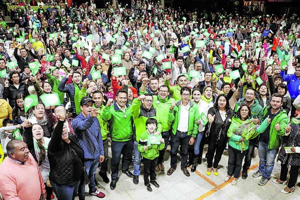 Reparos a la encuesta del Partido Verde por intromisión de Gobierno 1