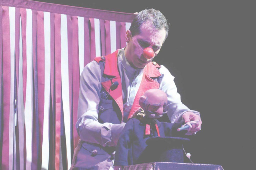 Circo de las maravilla del Teatro Baúl de la Fantasía