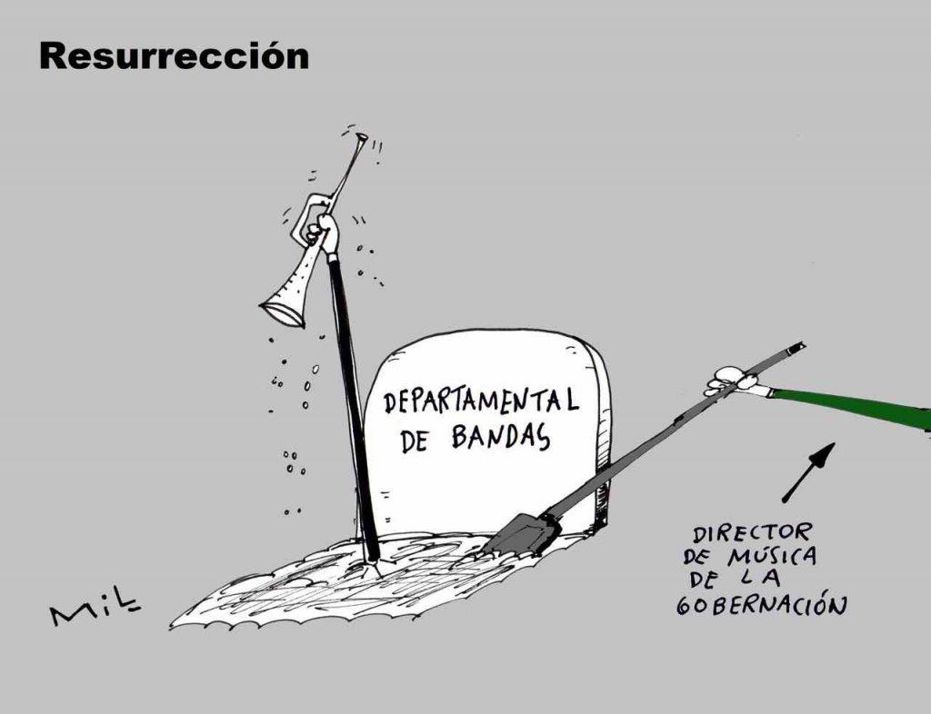 Caricatura 28 de Agosto de 2019 - Resurrección