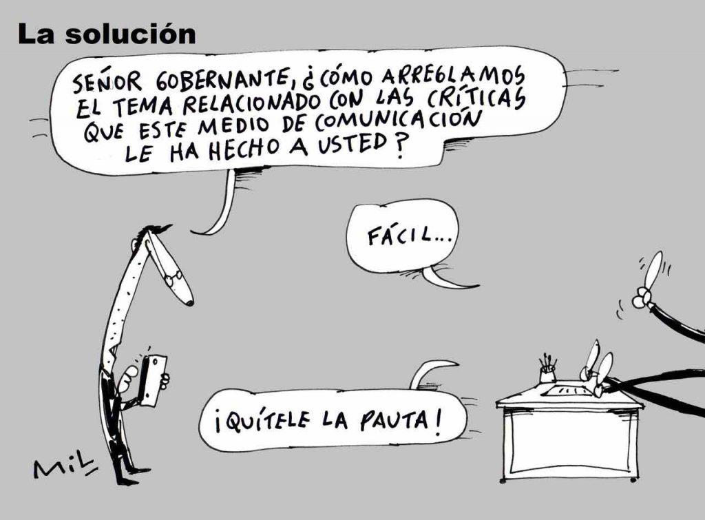 Caricatura 31 de Agosto de 2019