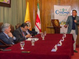 Gobernador Carlos Amaya habla