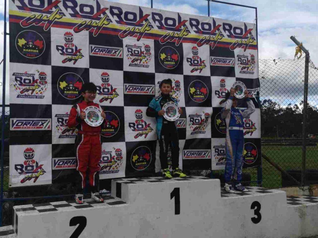 Carlos piloto de Karts