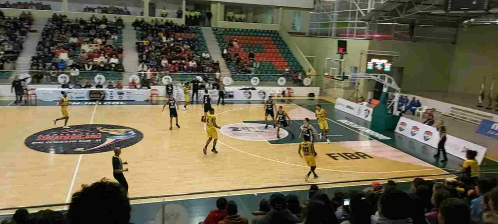 Selección de Baloncesto Suramericano en Tunja