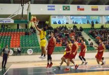 Campeonato de Baloncesto Suramericano en Tunja
