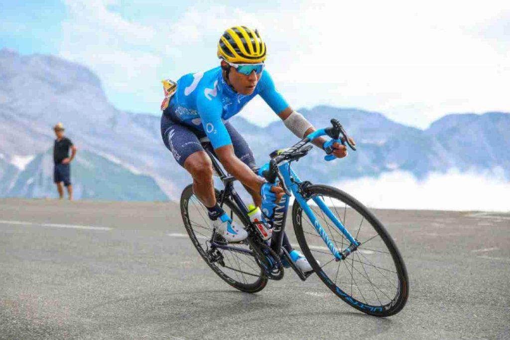 Nairo Quintana en bicicleta
