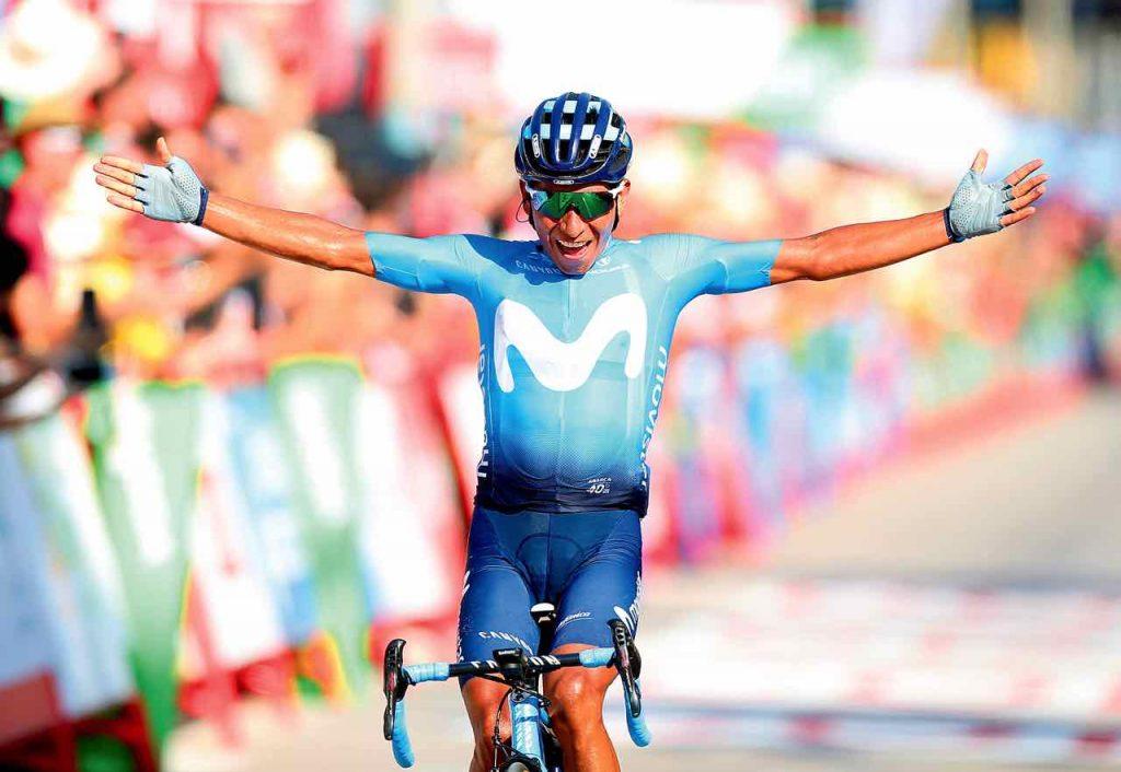Nairo Quintana gana etapa