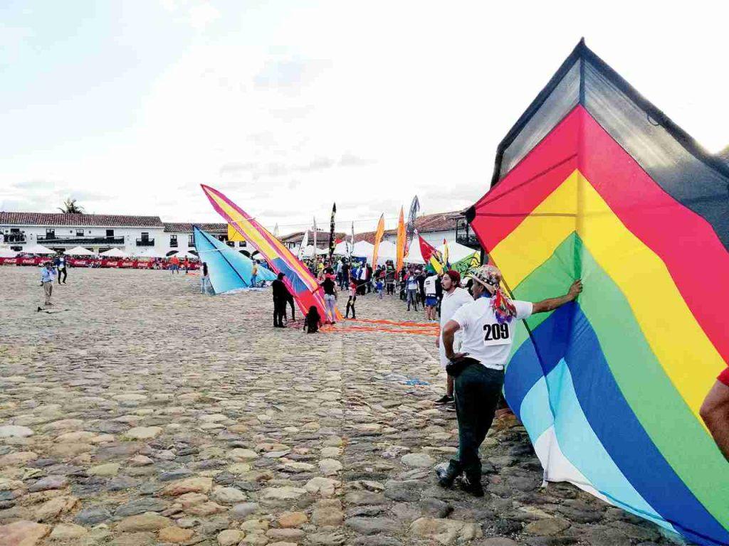 Festival de Cometas en Villa de Leyva