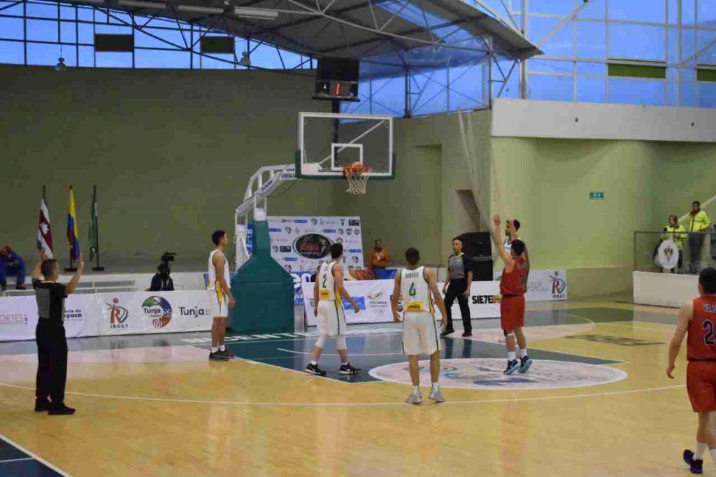 Brasil Baloncesto en Tunja
