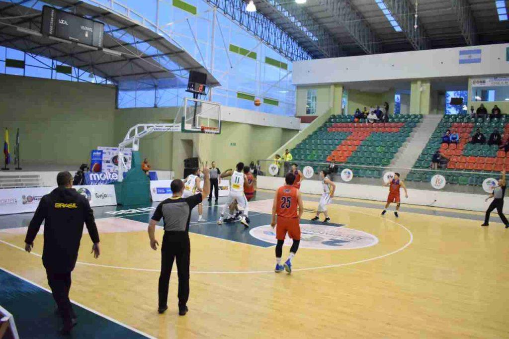 Brasil Suramericano de Baloncesto en Tunja