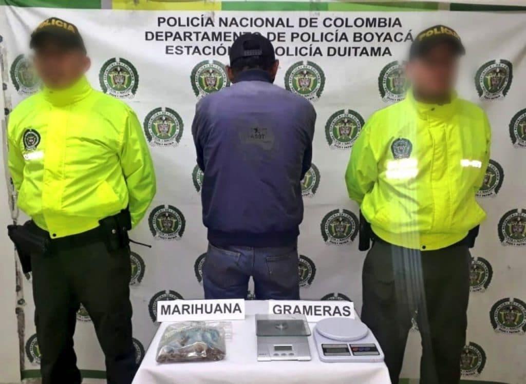 captura por venta ilegal de drogas