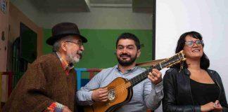 Jorge Velosa cantando carranguera