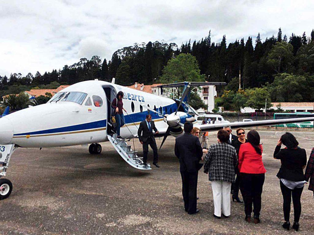Empresarios a volar desde Paipa