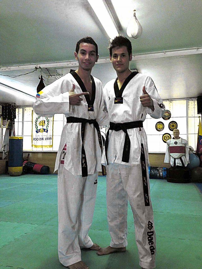 Forero es el presidente de la Federación Colombiana de Taekwondo.