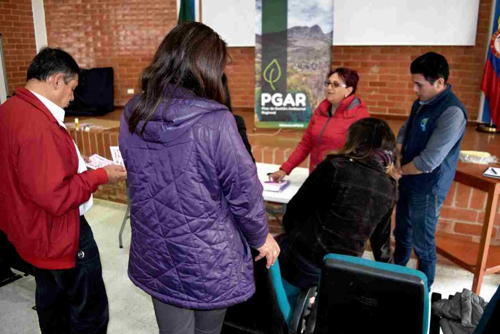 Reuniones del PGAR en Sogamoso