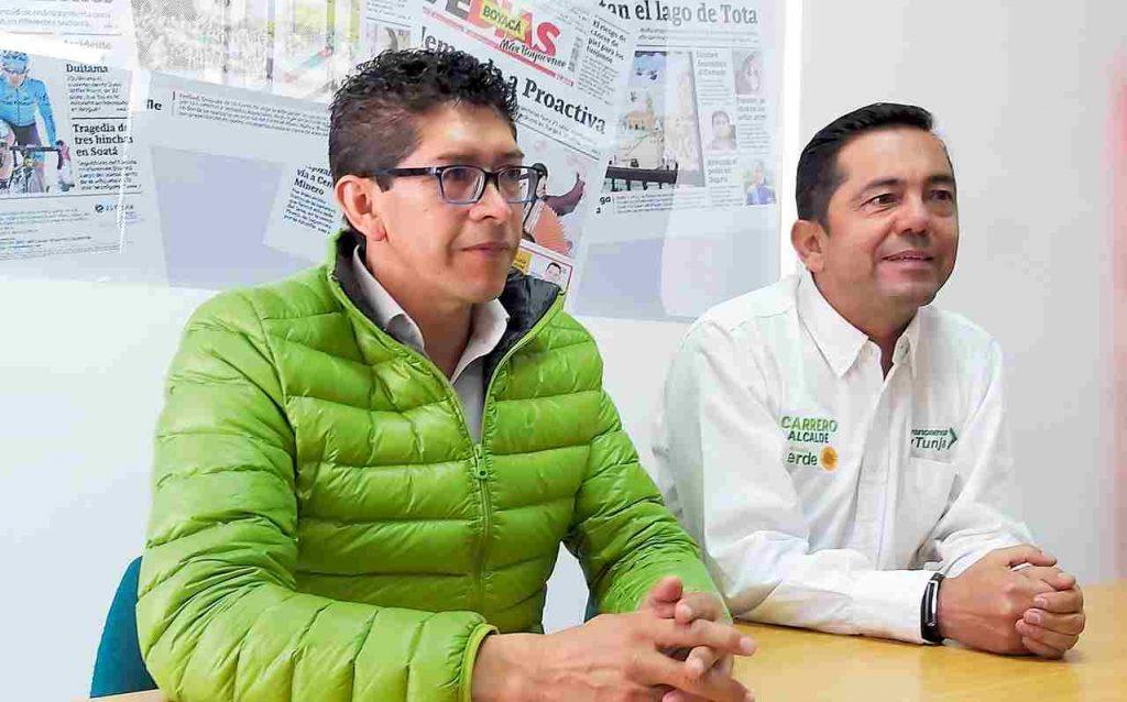 Ramiro Barragan y Jhon Carrero