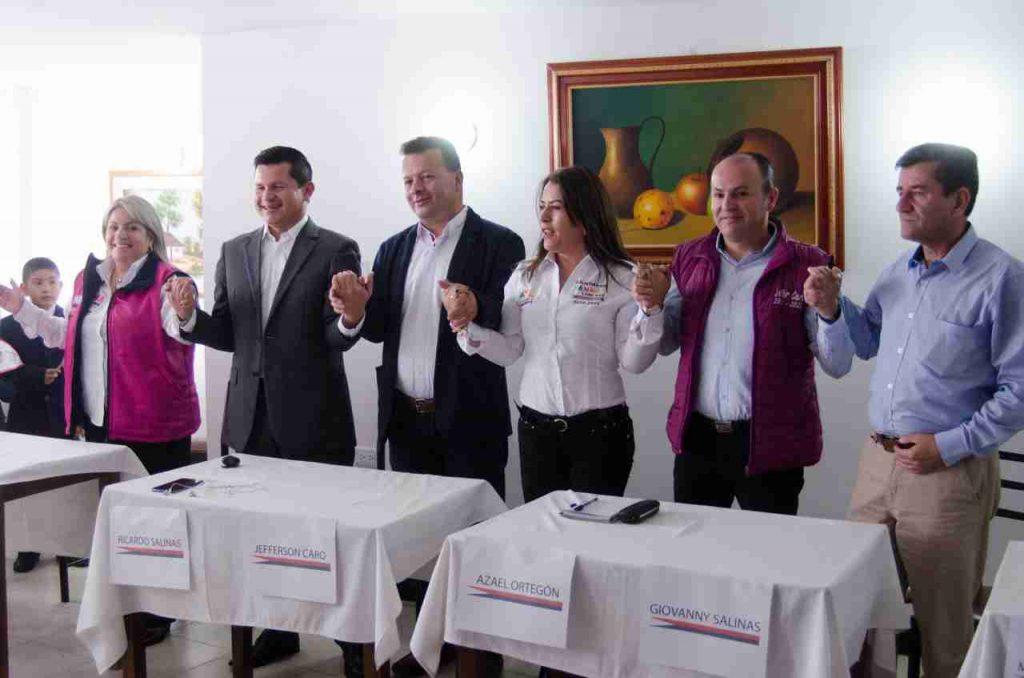 Atrás a las agresiones entre Candidatos a la alcaldia de Chiquinquirá