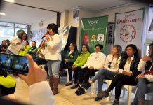 Candidatas de diferentes partidos firmaron la iniciativa