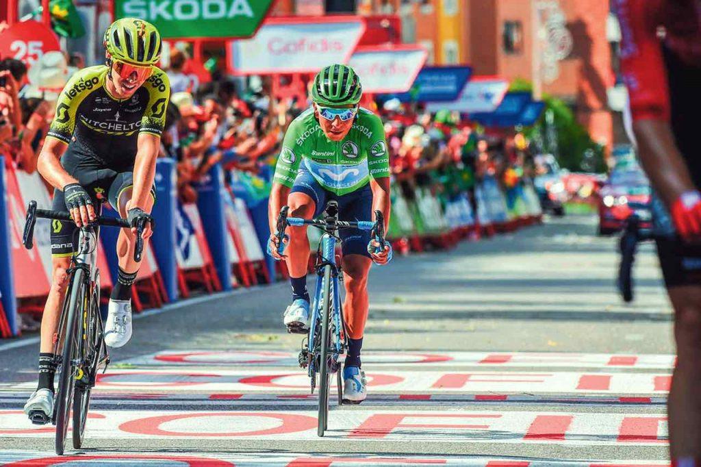 El boyacense Nairo Quintana (Movistar) descendió una casilla en la general individual, tras pagar el esfuerzo realizado en la etapa 17.