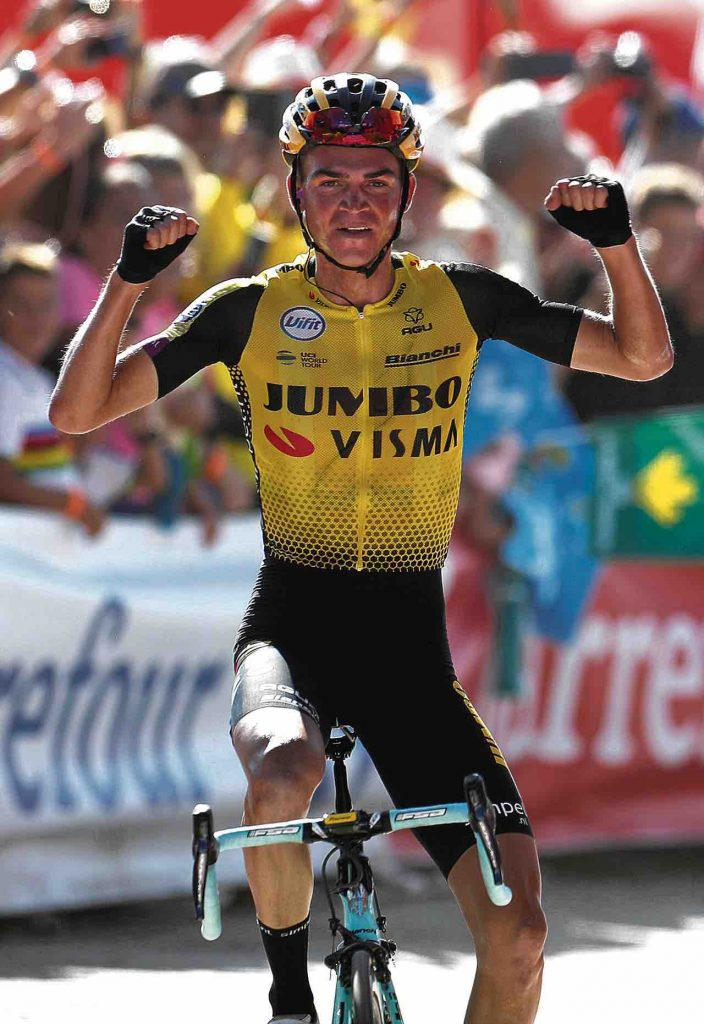 El ciclista estadounidense Sepp Keuss (Team Jumbo-Visma) se consagró ganador de la etapa 15 de la competencia española.
