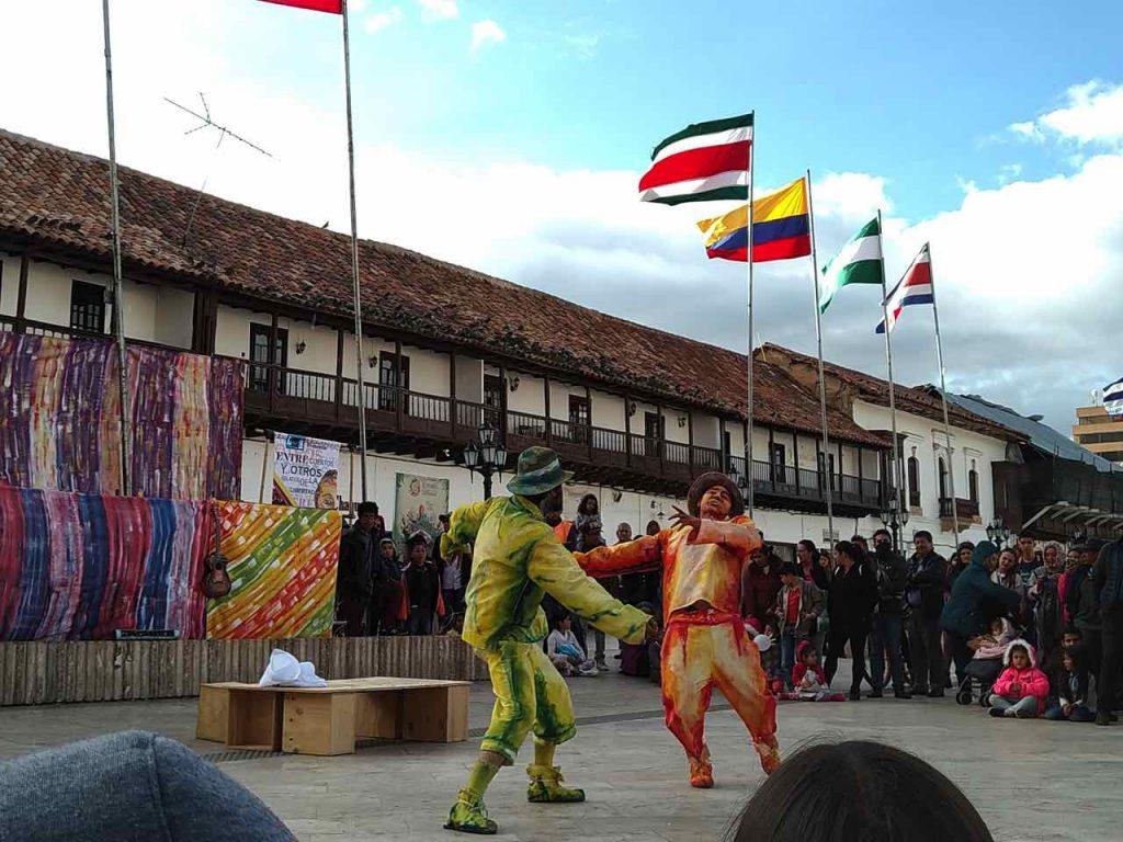 Teatro de Boyacá a Bolivia
