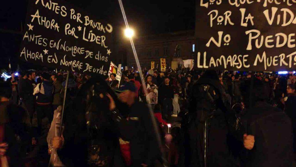 Protestas lideres sociales