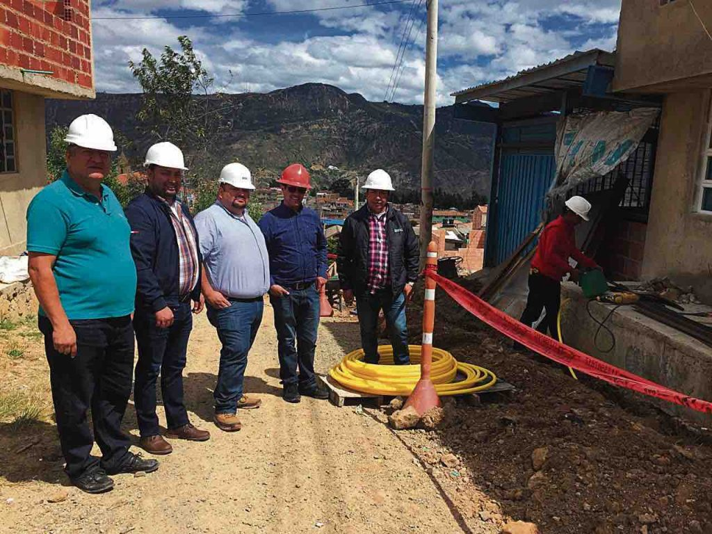 Obras de Gas Natural en Socha
