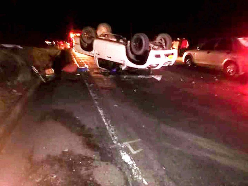 Accidente de Tránsito ciclista Cayetano Sarmiento