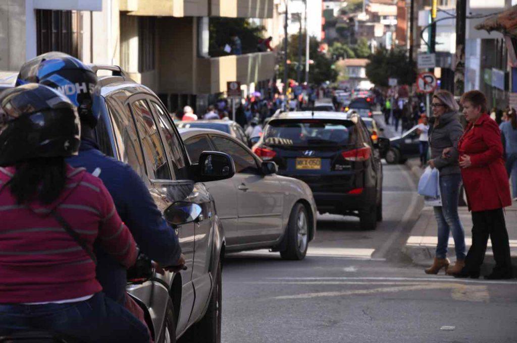 Señales de tránsito en Duitama
