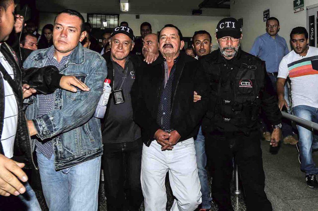 El 'patrón de las esmeraldas' Horacio Triana fue extraditado el pasado mes de enero por narcotráfico.