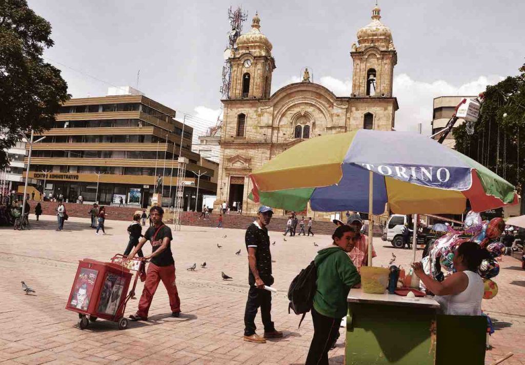 Parque Libertadores en Duitama