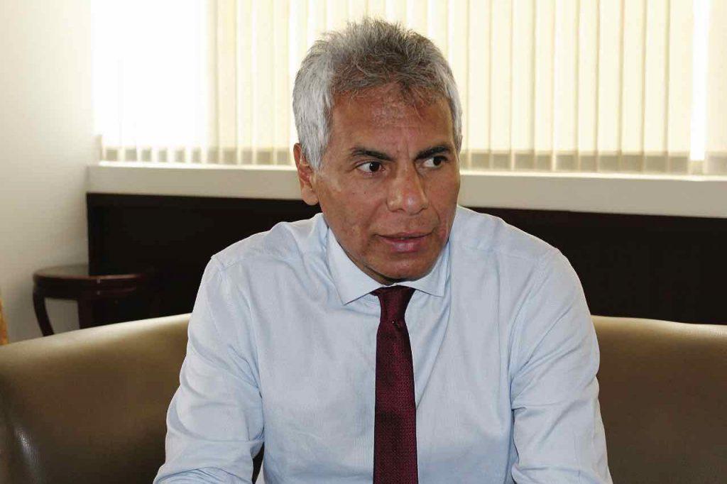 Alcalde de Duitama Alfonso Silva Pesca
