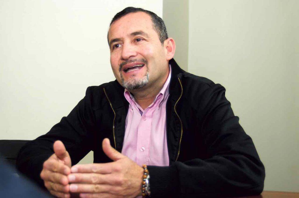 Henry Alberto Valcárcel Vega, presidente ejecutivo de la Cámara de Comercio de Sogamoso, una de las entidades organizadoras.