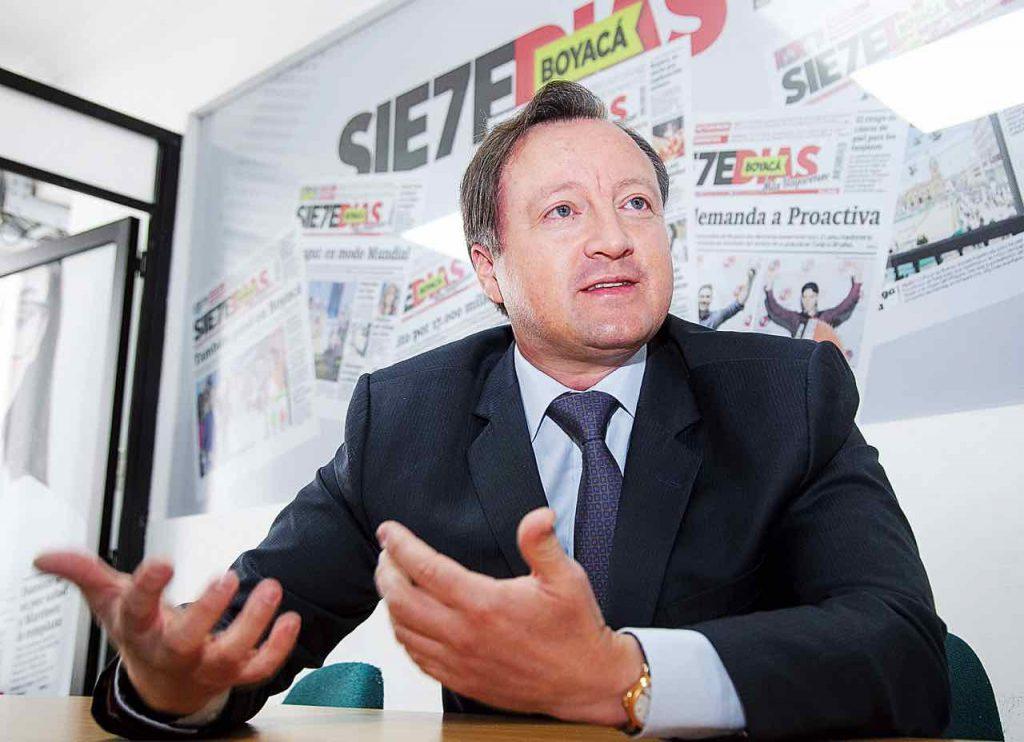 Ulises Fernández, vocero de Colombia en el exterior 1