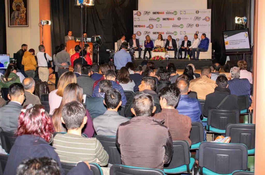 Auditorio Mayor U Juan de Castellanos de Tunja en el Debate Decisivo