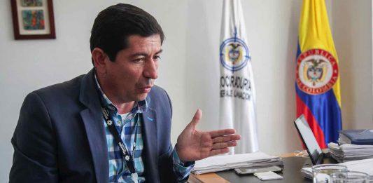 SAndro Condia ex alcalde de sogamoso