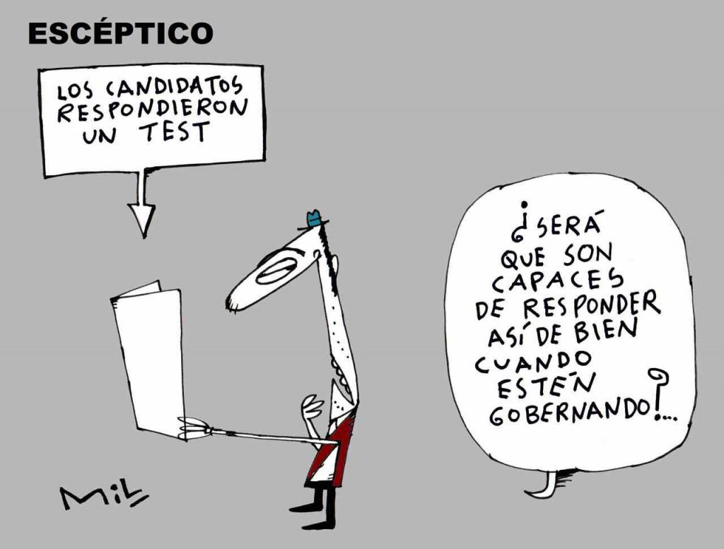 Caricatura 11 de Octubre de 2019