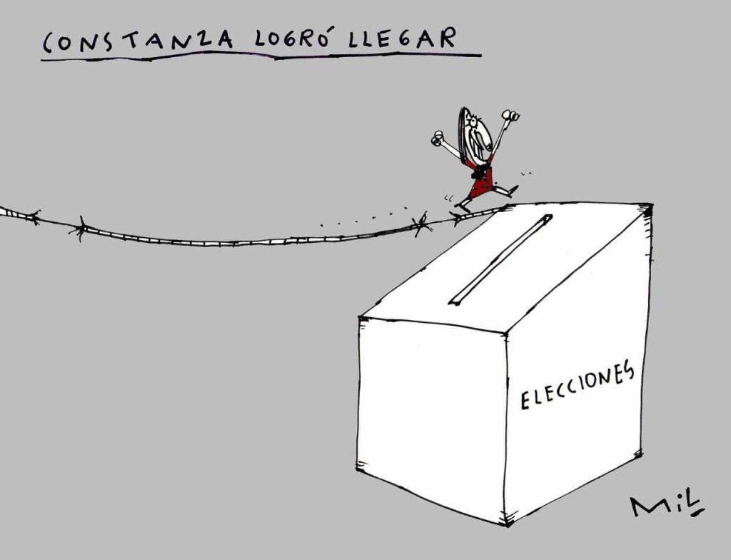 Caricatura 12 de Octubre de 2019