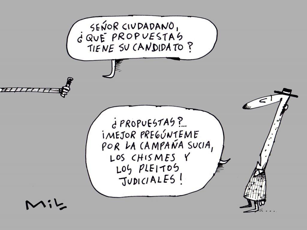 caricatura 19 de Octubre de 2019