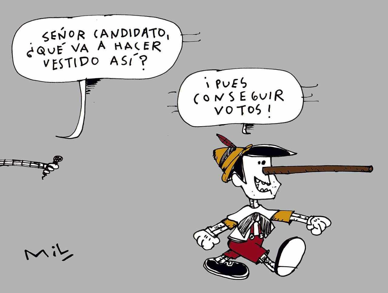 Caricatura 25 de Octubre de 2019