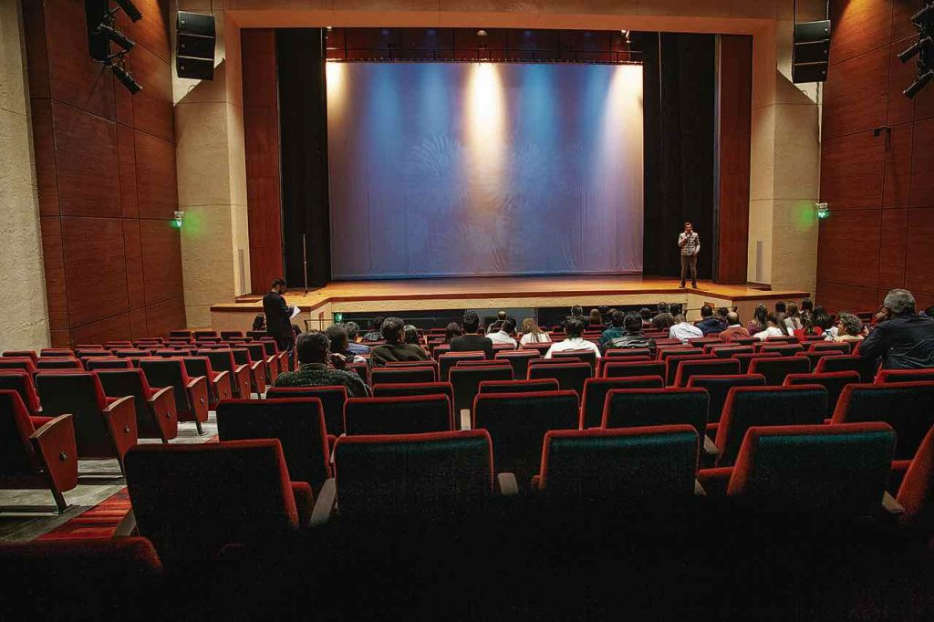 Teatro Bicentenario de Tunja vacio