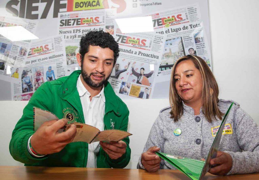 Los dos líderes de Paipa, articularon ideas e ideales para esta noche anunciar la alianza en un solo proyecto que buscará la Alcaldía.