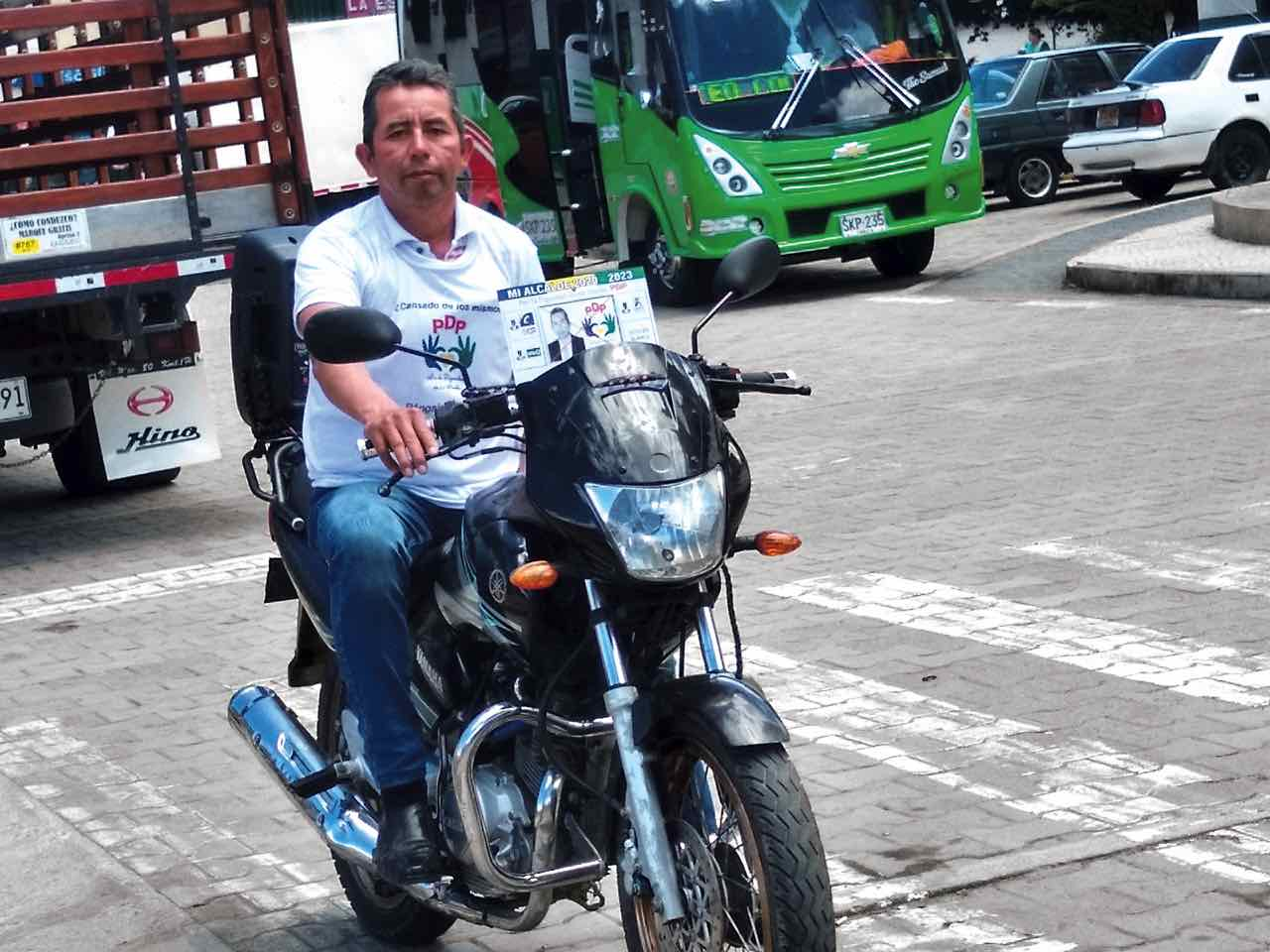 Mario Rosas Bermúdez, de 42 años, se graduó en administración pública para ser alcalde de Boavita