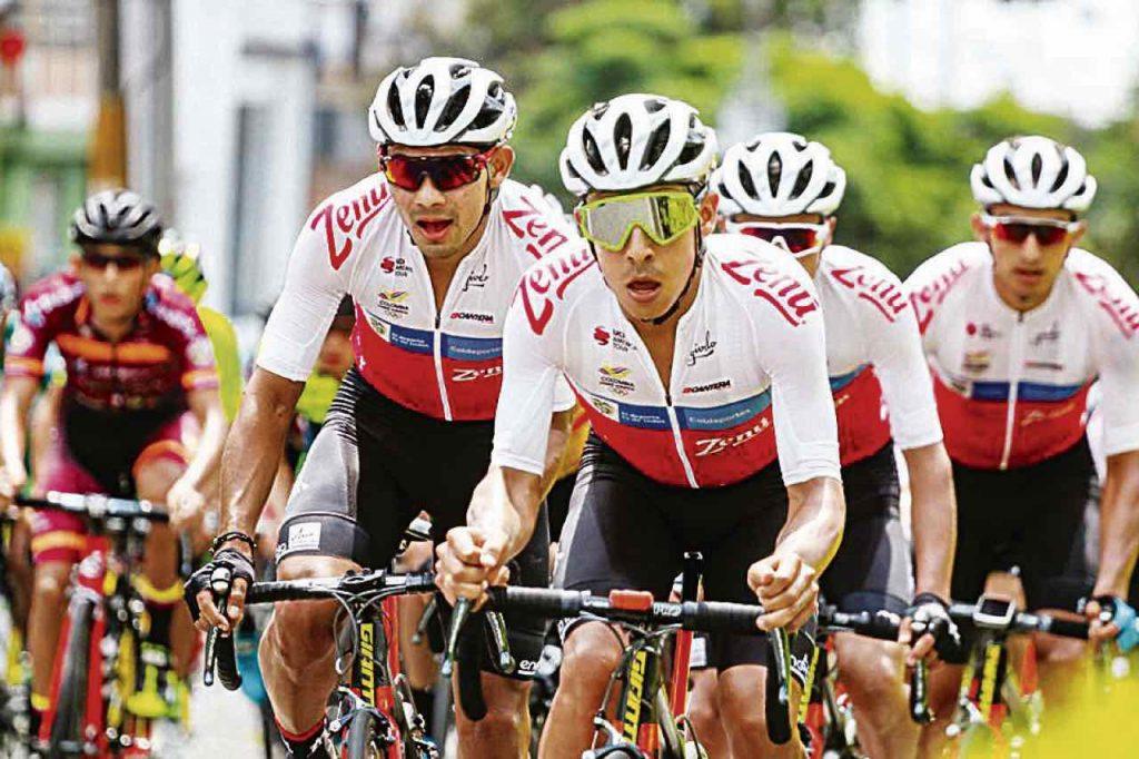 Ciclistas Vuelta a Ecuador